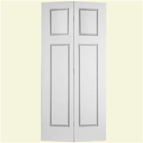 4 Panel Bifold Closet Doors by Masonite Glenview Textured 4 Panel Hollow Primed Composite Interior Closet Bi Fold Door