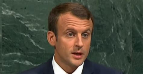 emmanuel macron united nations speech france pokes the bear launches trade attack on us