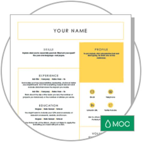 Land Your Dream Job Moo Resume Templates