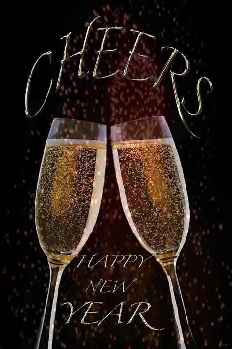cheers happy new year cheers for the new year photograph by debra vatalaro