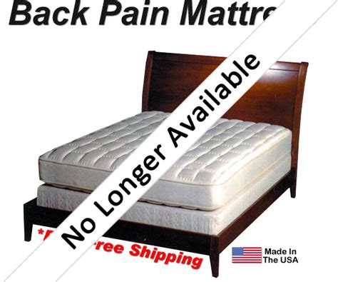 bed for back pain twin mattress set