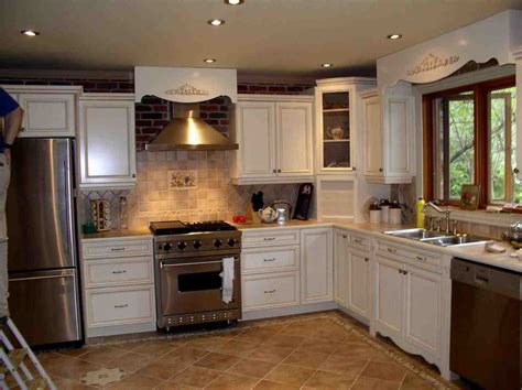 Kitchen Floor Tile Ideas With White Cabinets Temasistemi Net