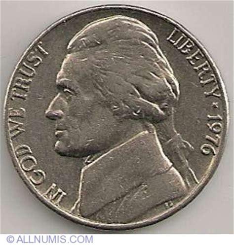 L Gamis 5903 Jefferson Nickel 1976 Nickel Five Cents Jefferson