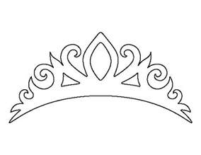 free printable tiara template 25 best ideas about crown template on crown