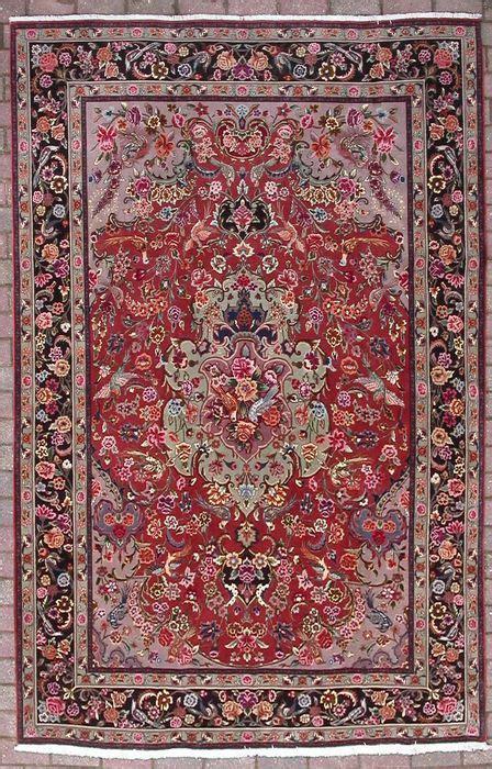 tappeto persiano tabriz tappeto persiano tabriz vecchio di 50 50 anni catawiki