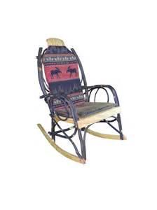 Amish Rocking Chair Cushions by Amish Bentwood Rocker Cushion Set Sided Moose