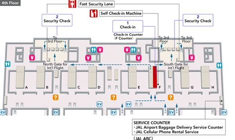 house plan with security layout osaka kansai international airport arrivals and departures