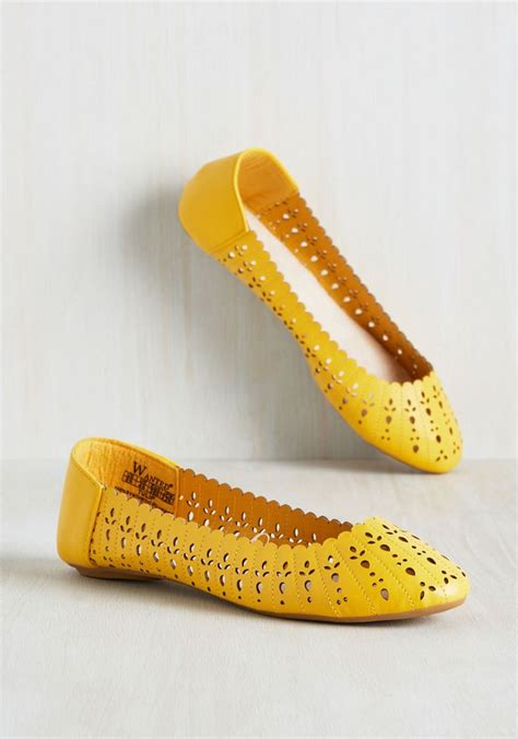 Yellow Flat Shoe 1343 best shoes images on shoes shoe boots and slippers