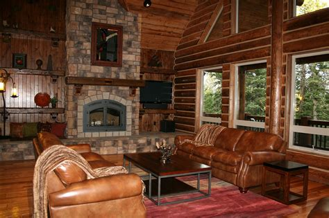 pics of log home interiors california log home kits and
