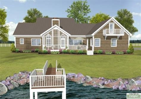 Lake View House Plans by Lake Home Plans With A View Studio Design Gallery