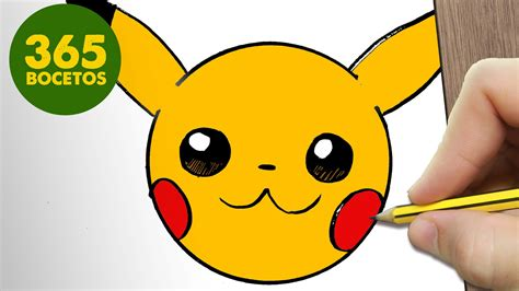 imagenes kawaiis de picachu como dibujar pikachu emoticonos whatsapp kawaii paso a