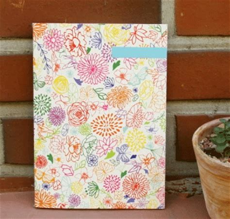 flower design notebooks the magic notebook beautiful stationery