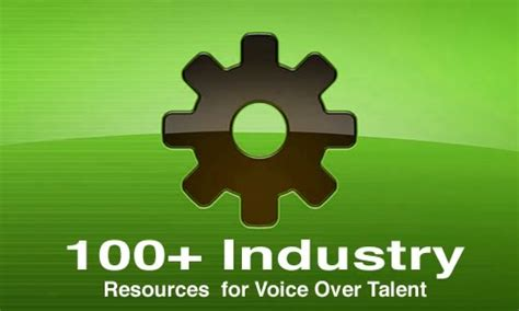 voice over resources resources for voice over talent for voice actors