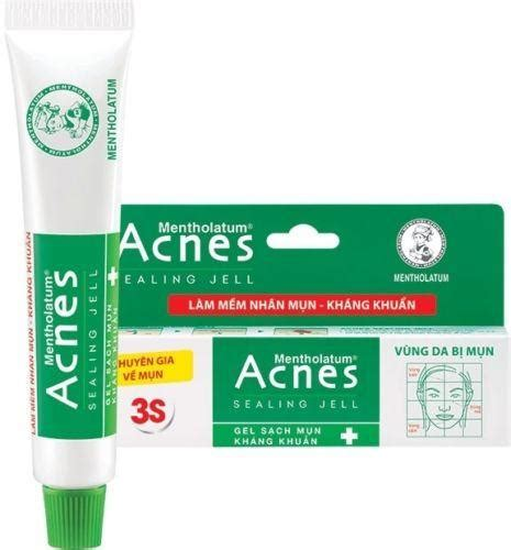 Acnes Sealling Jell acnes medicated sealing jell 18 grams antibacterial