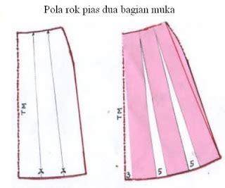 Rok Linen Klok cara membuat pola rok pias dua danitailor