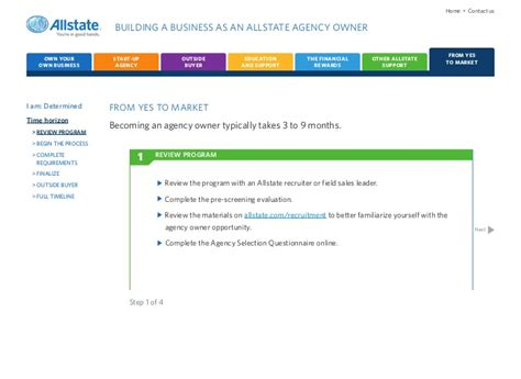 Allstate Background Check Allstate Agency Opportunity