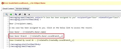 visualforce email template merge fields access the user details owner of a record in