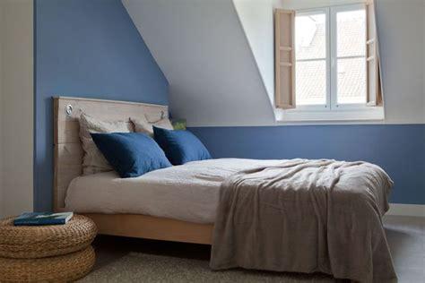 Chambre Bleue Et Beige by Peinture Couleur 12 Photos De Salon Chambre Toilettes