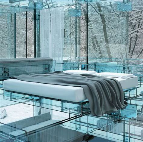 glass bed nothing to hide beds made of glass