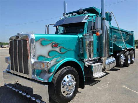 scow dump truck peterbilt dump truck show and shine trucks pinterest