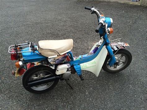 Suzuki Fs50 Suzuki Fz50 Retro Monkeybike Scooter Mot D Taxed T4