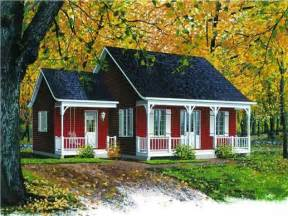 Country Cabin Floor Plans Small Farm House Plans Small Farmhouse Plans Bungalow
