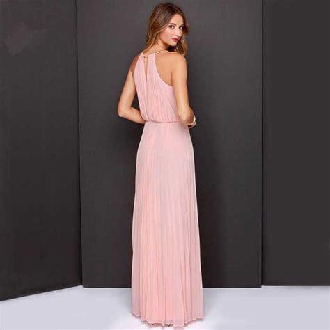 dress pink cantik import 2016 model terbaru jual