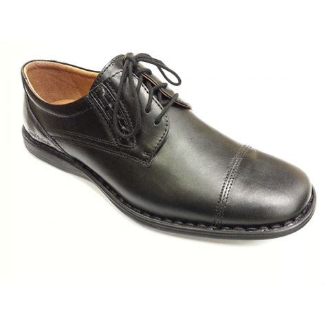 black leather shoes slater black leather lace up shoe