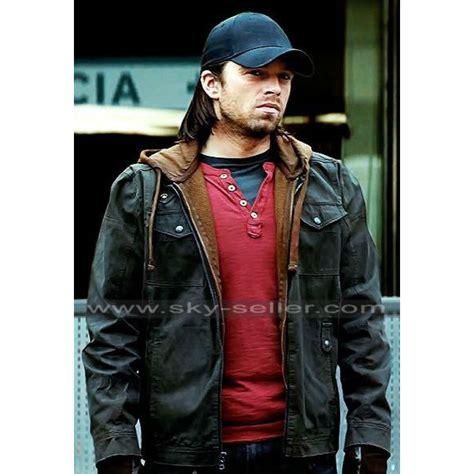Vest Hoodie Captain America Civil War sebastian stan civil war winter soldier hoodie jacket