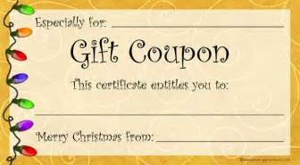 gift coupon template need a last minute gift free printable