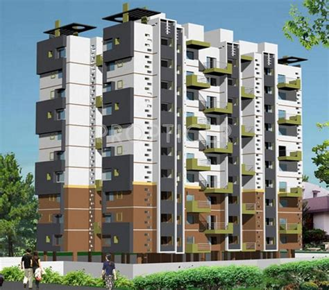 Concrete Apartments by 2 3 Bhk Cluster Plan Image Concrete Developers