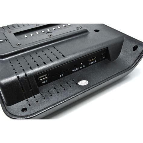 Kursi Mobil layar kursi mobil dvd player function black