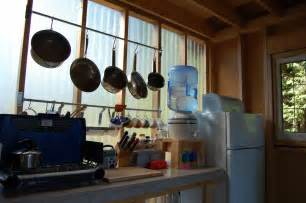 Camp Kitchen Design by Tiny Rustic Cabin Camp Kitchen Small House Bliss