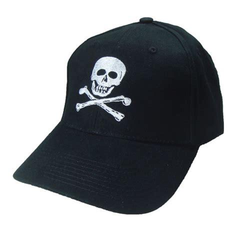 skull and crossbones boating baseball cap marine
