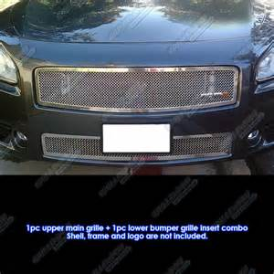 2014 Nissan Maxima Accessories Fits 2009 2014 Nissan Maxima Stainless Steel Mesh Grille