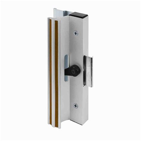 Sliding Glass Door Latches Prime Line Surface Mounted Sliding Glass Door Handle With Cl Type Latch Aluminum C 1005