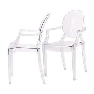 Clear Armchair by Casper Dining Armchair In Clear Chairs
