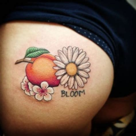 daisy and rose tattoo small sunflower ideas