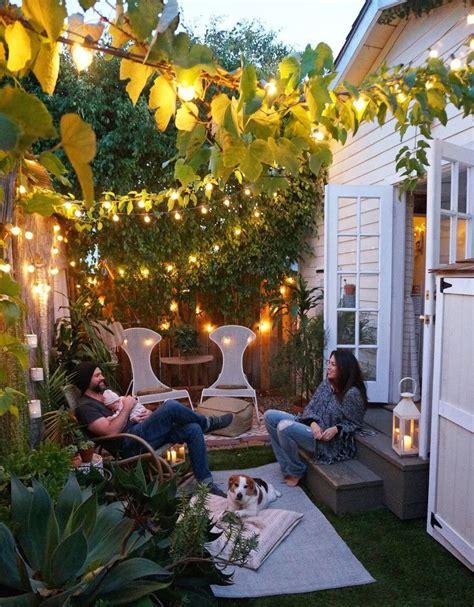 small garden ideas  tiny outdoor spaces summer