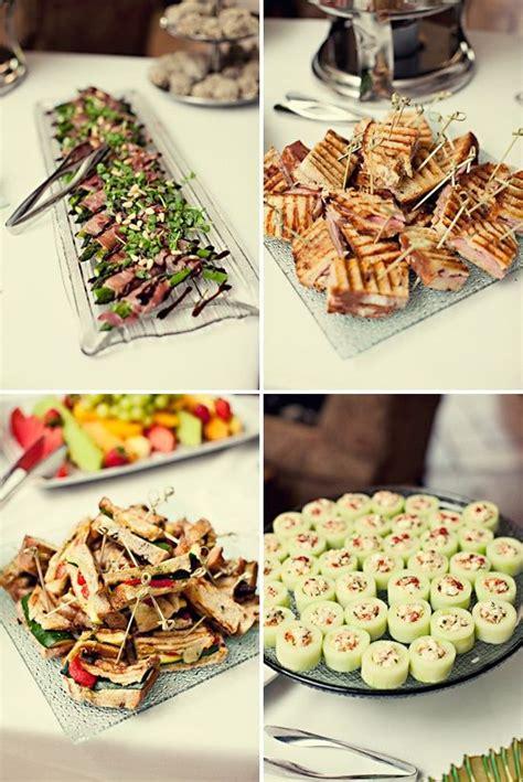 easy wedding shower food ideas baby ideas summer garden finger