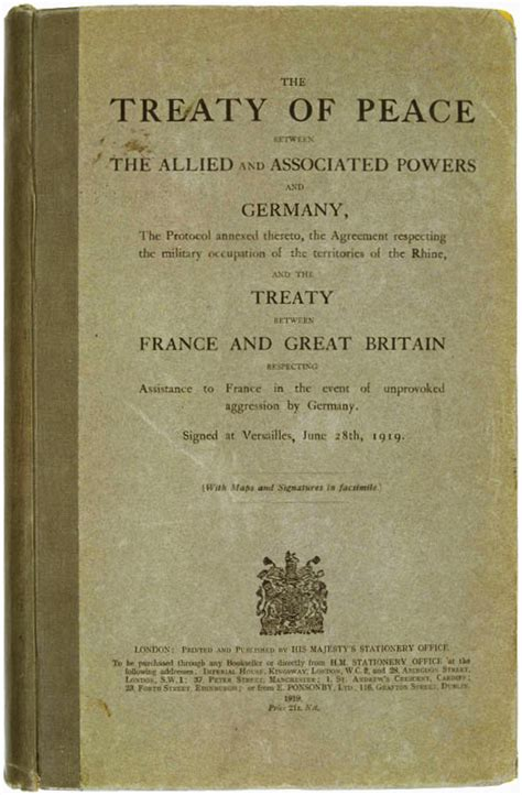 a perfidious distortion of history the versailles peace treaty and the success of the books treaty of versailles