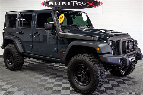2016 Jeep Wrangler Rubicon Unlimited Aev Jk 350 Conversion