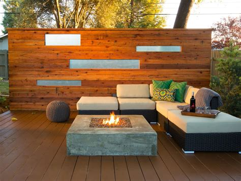 Backyard Stone Patio Ideas 5 Fire Pit Ideas To Steal For Cozy Fall Nights Hgtv S
