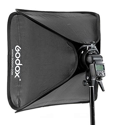 godox softbox 60x60cm hitam godox 60x60cm softbox bag kit for studio flash fit