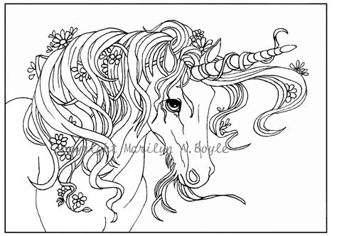 free printable coloring pages for adults unicorns unicorn coloring pages for adults coloring page