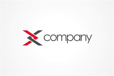 a logo with a x free logo x logo