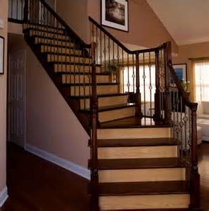Wood On Stairs by 17 Best Images About Hardwood Stair Ideas On Pinterest
