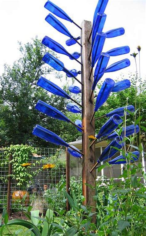 how to make a wine bottle tree reuse glass to make useful things a of rainbow