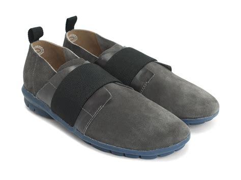 fluevog shoes fluevog shoes shop osaka grey lightweight slip on shoe