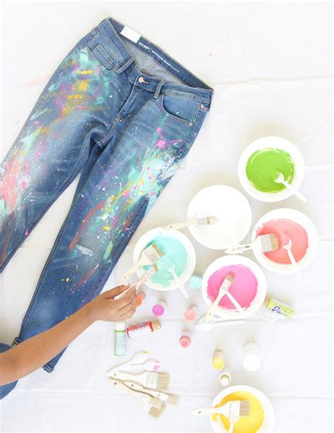 get paint how to get paint out of jeans in the simple ways the